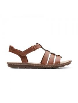 Sandales ouvertes marron Clarks