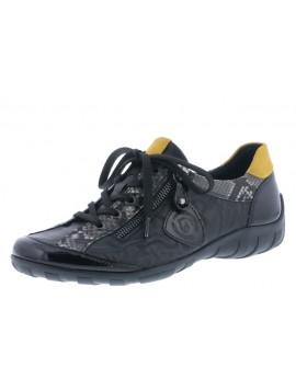 Baskets noires basses Remonte