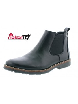 Bottines Noires Rieker