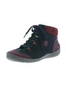 Chaussures Noires Rieker
