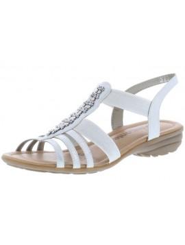 Sandales argent