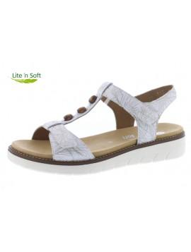 Sandales blanche