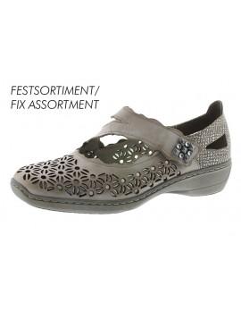 Sandales à talons grises