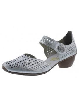 Sandales argentées